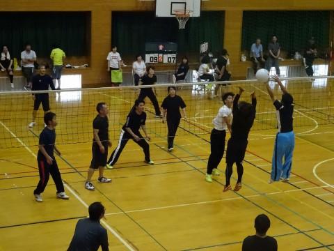 ①人づくり体育部『ソフトバレーボール大会』